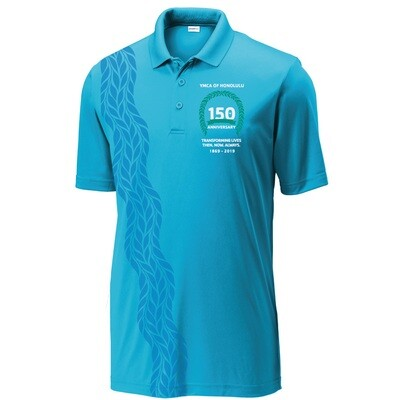 YMCA Honolulu - 150th Anniversary Mens Polo