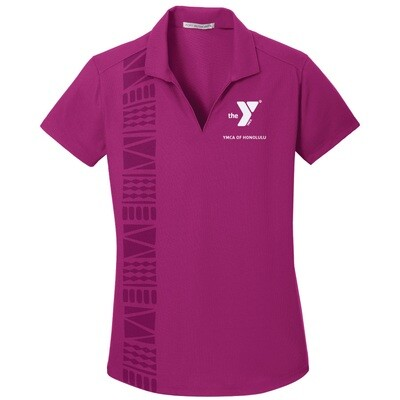 YMCA Honolulu - Ladies Dry Zone Grid Staff Polo (L572)