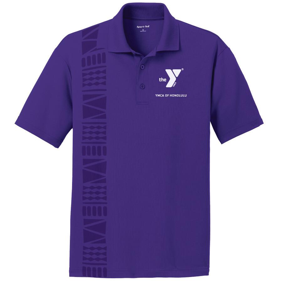 YMCA Honolulu - Mens Posicharge Staff Polo - Purple(ST640)