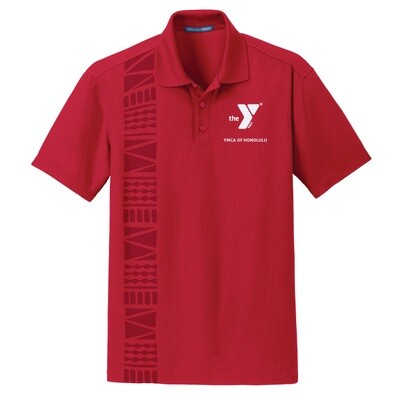 YMCA Honolulu - Mens Dry Zone Grid Staff Polo (K572)