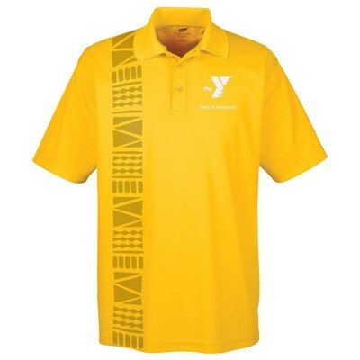 YMCA Honolulu - Mens UltraClub Polo - Gold(8210)