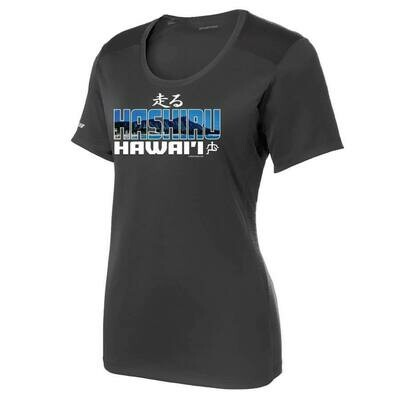 Run Paradise - Hashiru Womens T-Shirt (LST380)