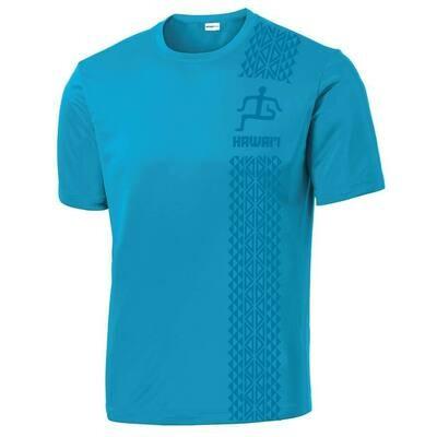 Run Paradise - Mens Tribal Pattern T-Shirt (ST350)