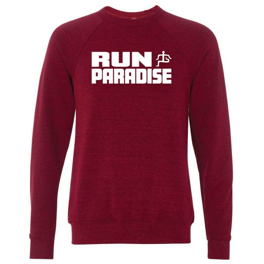 Run Paradise - Felt Letter Sweatshirt (BC3901)