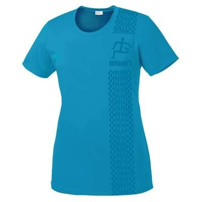 Run Paradise - Womens Tribal Pattern T-Shirt (LST350)