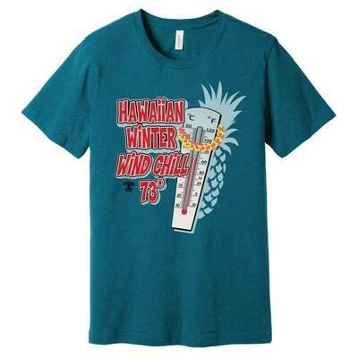 Run Paradise - Hawaiian Wind Chill Shirt (BC3001CVC)