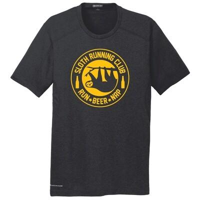 Run Paradise - Mens Sloth Running Club (Beer) Shirt (OE320)