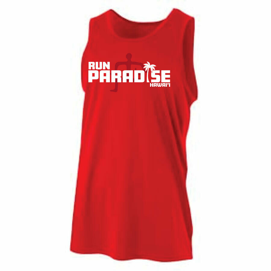 Run Paradise - Mens Muscle Tank