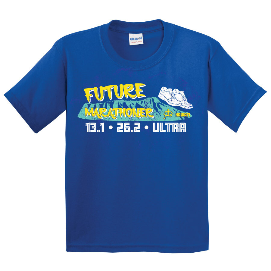 Run Paradise - Future Marathoner Youth T-Shirt (5000B)