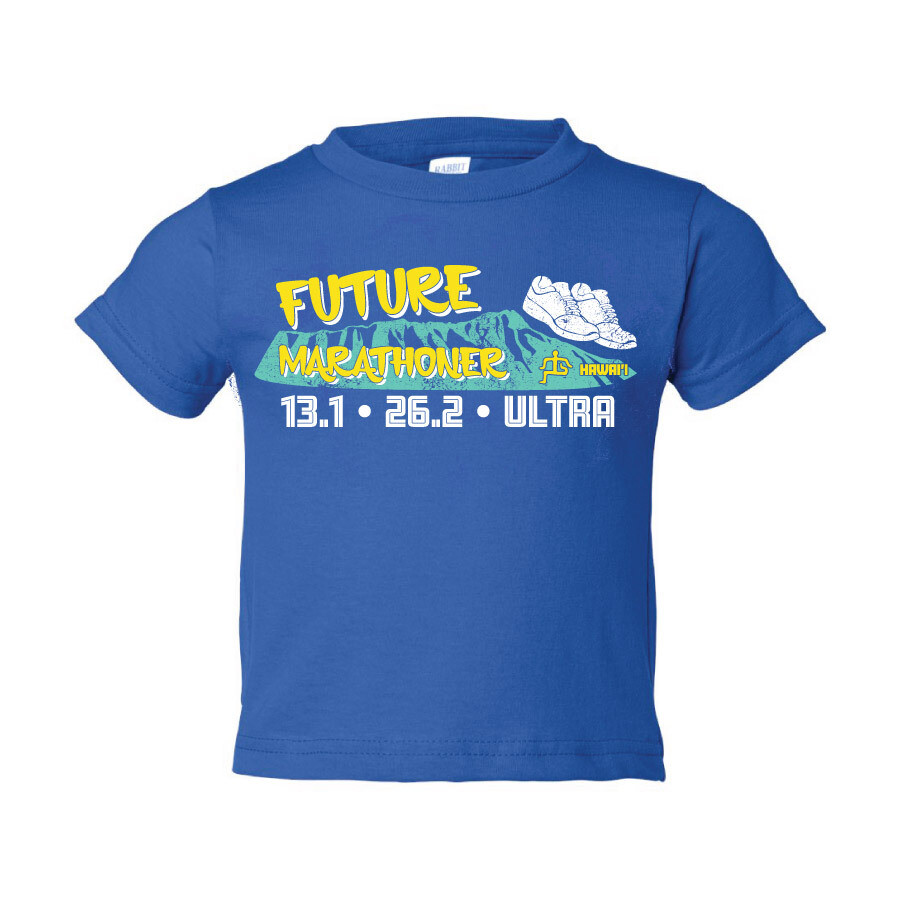 Run Paradise - Future Marathoner Toddler T-Shirt (RS3301T)