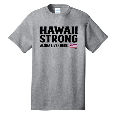 Hawaii Strong 2020 Adult T-Shirt (PC54)