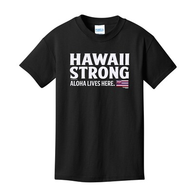 Hawaii Strong 2020 Youth T-Shirt (PC54Y)