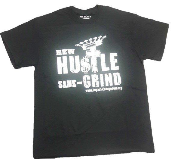 New Hustle Same Grind - Black