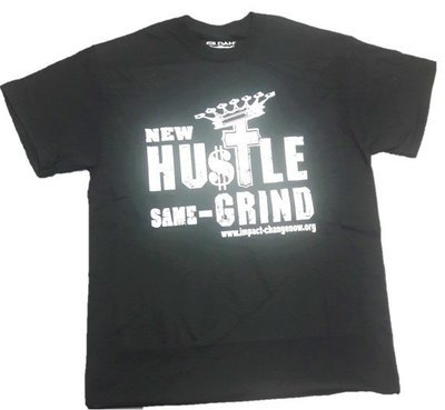 New Hustle Same Grind - Black
