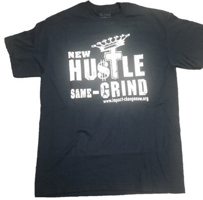 New Hustle Same Grind - NAVY BLUE