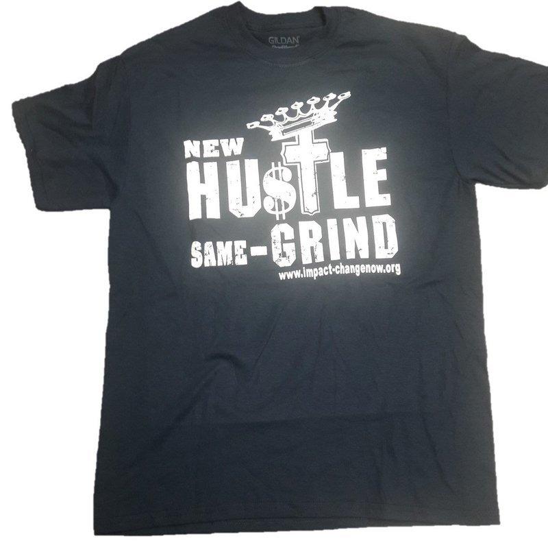 New Hustle Same Grind - NAVY BLUE