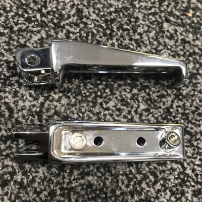 M109 Chrome Exchange Front Pegs