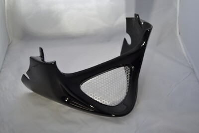 GLOSS BLACK PAINTED HIGH QUALITY CHIN SCOOP SUZUKI M109