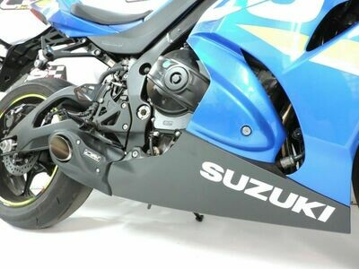 17-20 Suzuki GSXR 1000 CS Racing Full Exhaust System with Headers