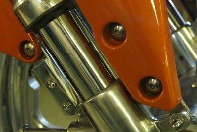 Suzuki M109R 21 inch front fender spacers