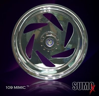 SUZUKI M109R REAR MIMIC WHEEL 18 x 10 inch for 280 or 300 Tire