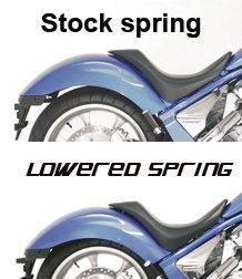 Rear Lowering Spring for Honda Fury