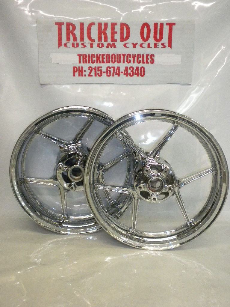Kawasaki Chrome Wheel Exchange