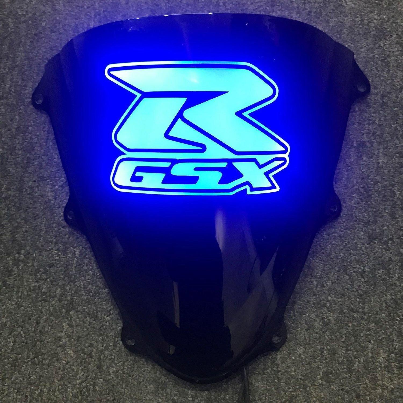 Suzuki GSXR Light Up Windscreen