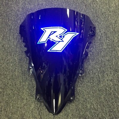 Yamaha R1 Lightup Windscreen