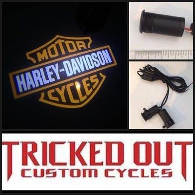 Harley Davidson Logo Light