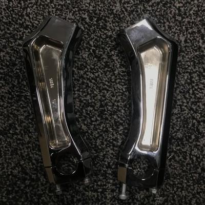 Suzuki M109 Bar Risers Chrome Exchange