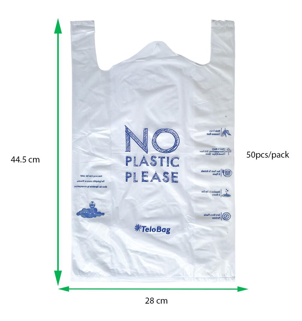 TeloBag Size M 28 Packaging/Trash T-Shirt Bag