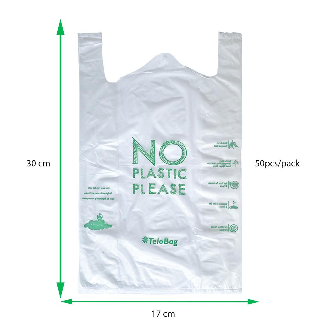 TeloBag Size XS 17 Packaging/Trash T-Shirt Bag