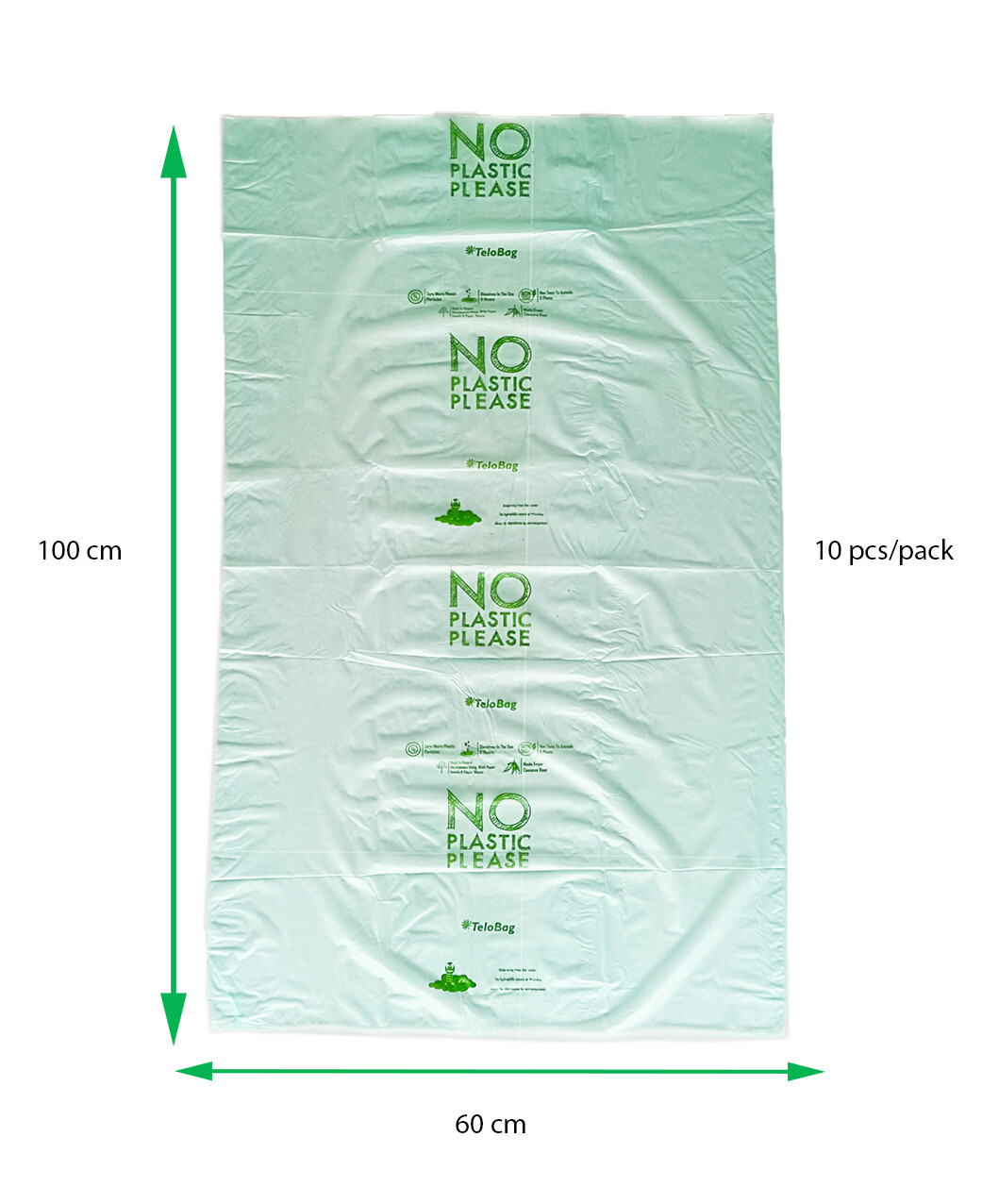 TeloBag Size 60 Multipurpose Laundry, Packaging, Trash Bag