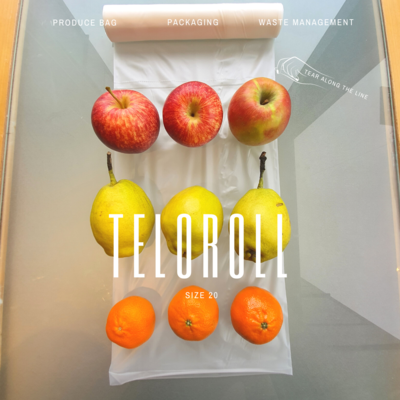 TeloRoll Size 20 Multipurpose Perforated Produce Bag