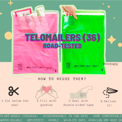 TeloBag Size 36 Mailer/Document Pouch (Polymailer Replacement)