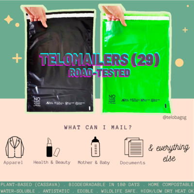 TeloBag Size 29 Mailer/Document Pouch (Polymailer Replacement)