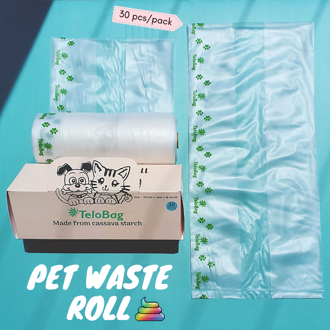 Telobag Perforated Pet Waste Roll
