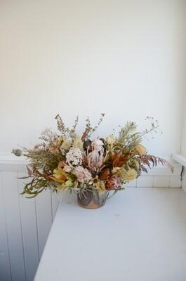 Earthy & Native Vase Arrangement