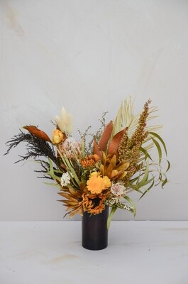Browns & yellows in an Amber Vase