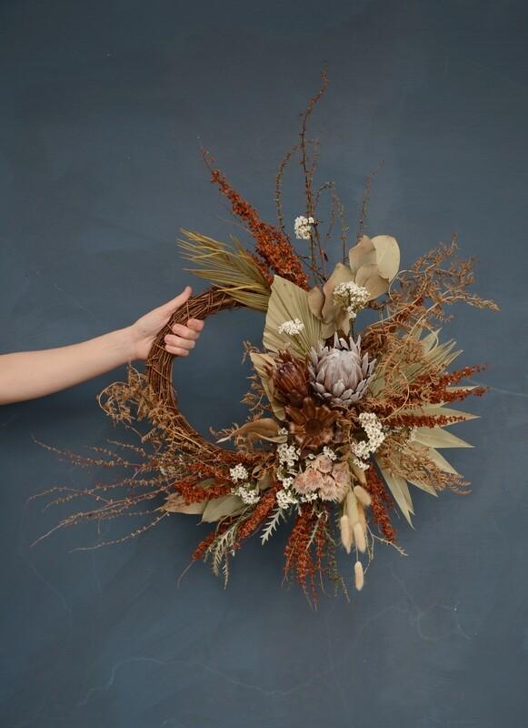 Everlasting Wreath 30 Cm