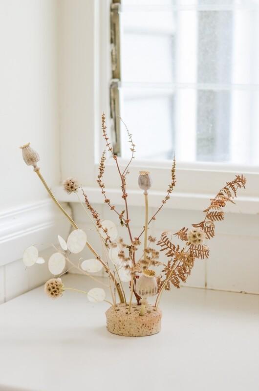 Ikebana Style in a Mark Gambino Vessel