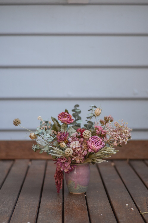 Pinks in Mark Gambino Pottery
