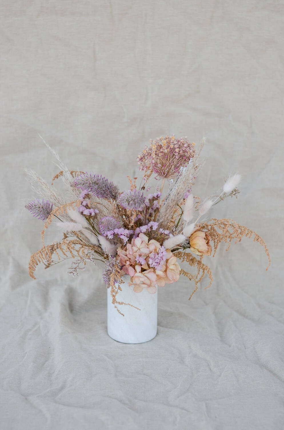 Pastels in a Marble Vase