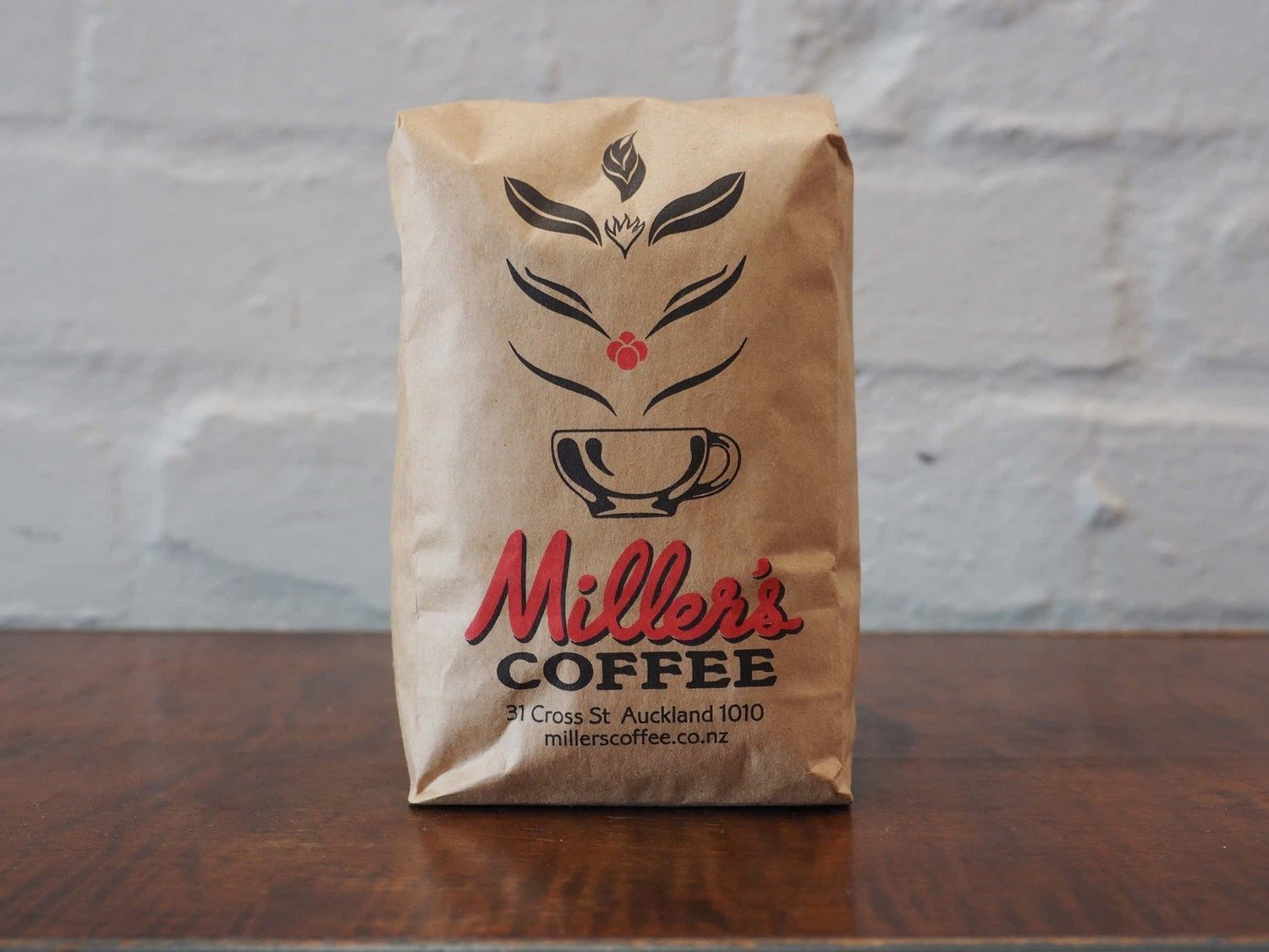 250g Millers blend coffee