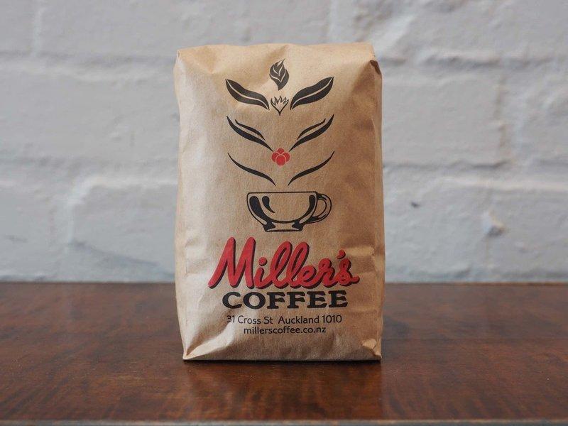 250g Millers blend coffee