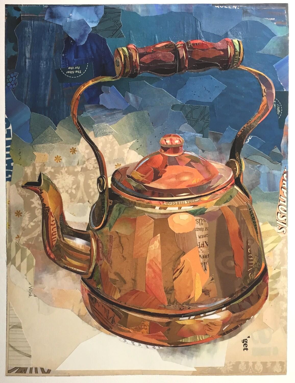 """""""Kettle #4 / Copper Kettle""""  print     2018"""