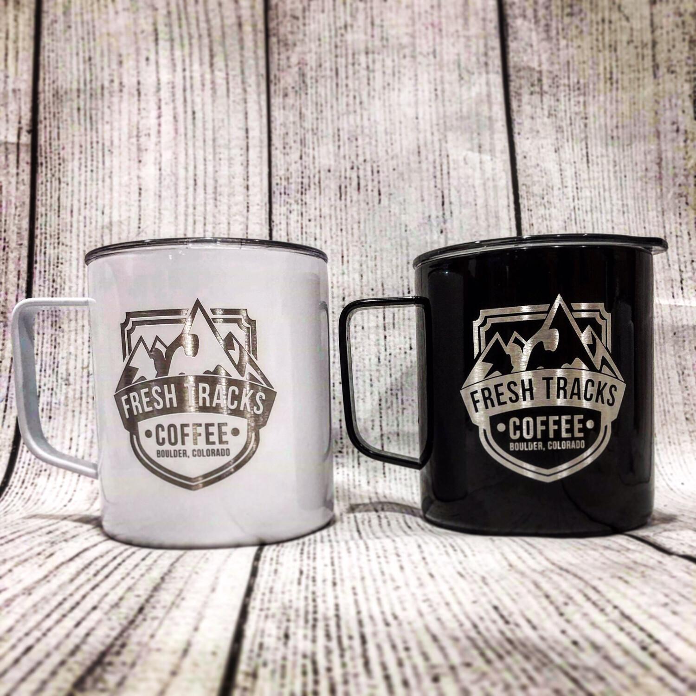 Fresh Tracks Coffee Camp Mug