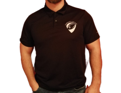 Polo negro Rugby