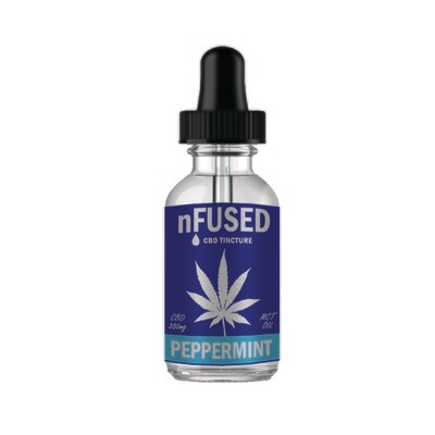 nFUSED - CBD TINCTURE PEPPERMINT